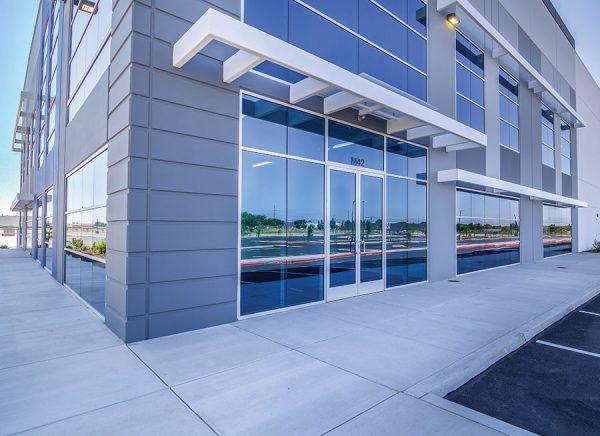Lathrop Logistics Center building