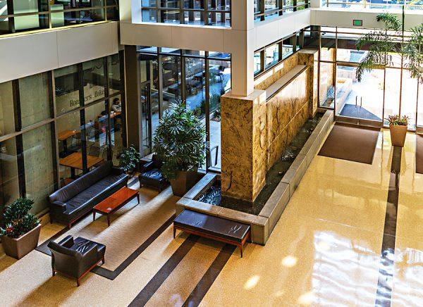 555 Capital Mall Lobby