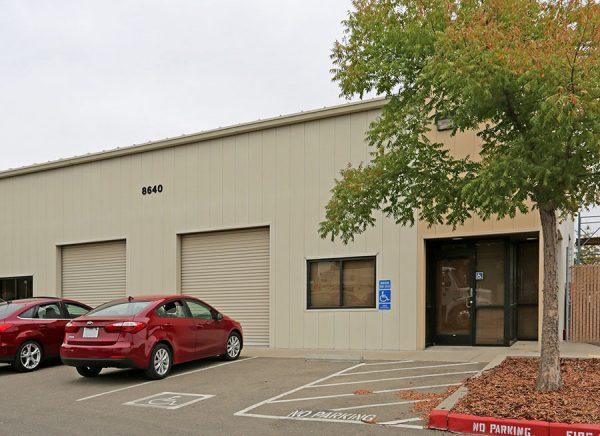8640 Elder Creek Road storefront