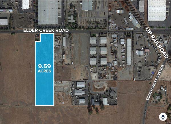 8770 Elder Creek Road Aerial