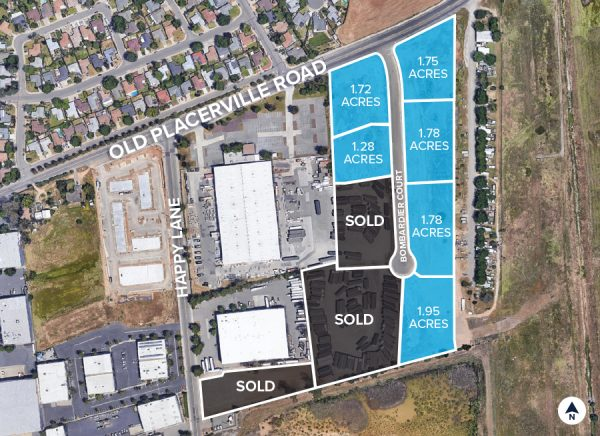 Old Placerville Road Site Plan Aerial