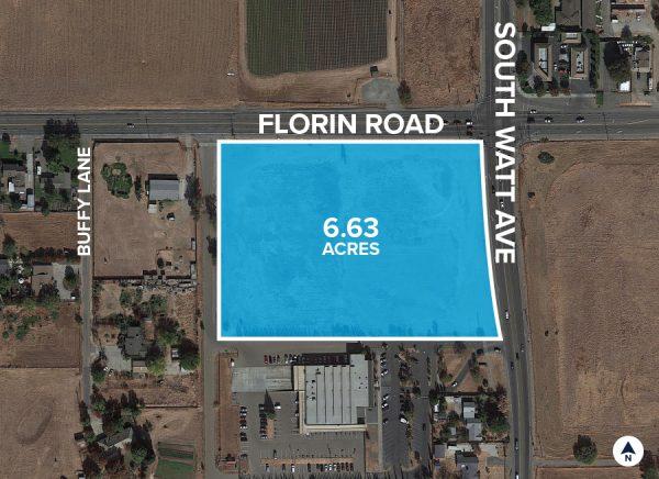 South Watt Avenue & Florin Road Aerial