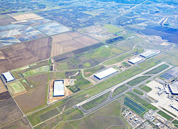 Metro Air Park Land Aerial