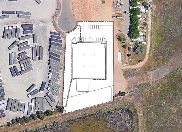 3761 Bombardier Court site plan