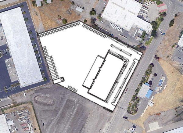 7875 RA Bridgeford Road site plan