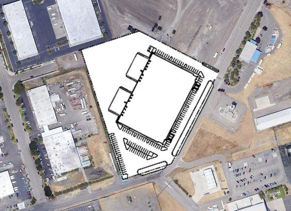 7985 RA Bridgeford Road site plan