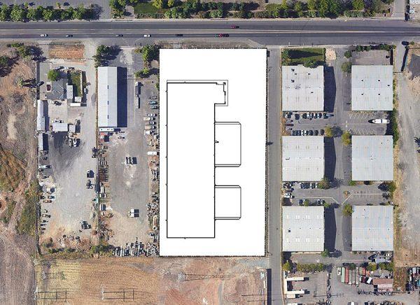 8810 Elder Creek Road site plan