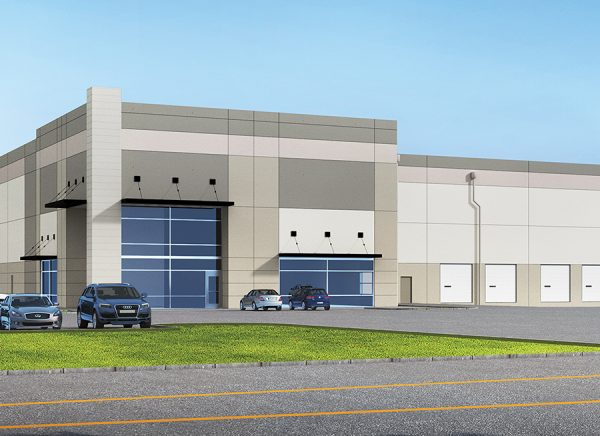 Buzz Oates Standard Building Store Front Rendering