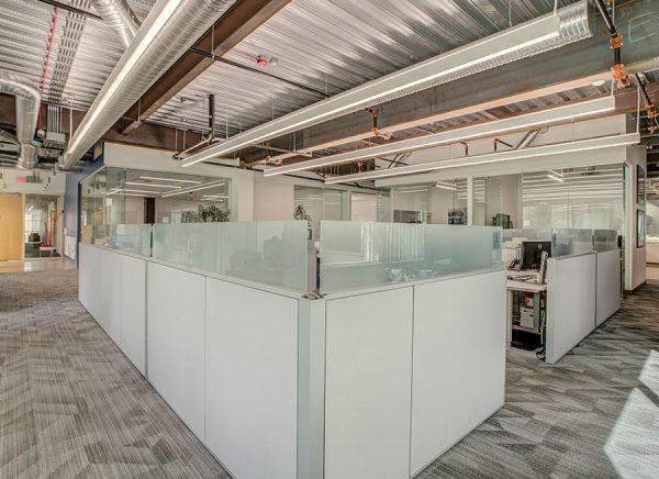open work space
