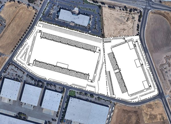 Vacaville Business Park Aerial Site Plan
