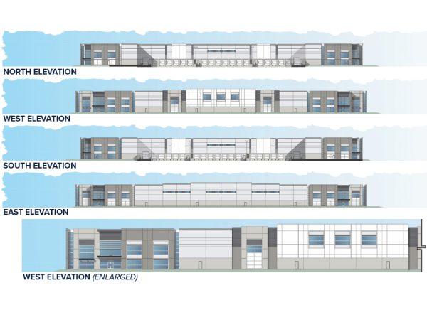 Metro Air Park - Building 4 Elevations