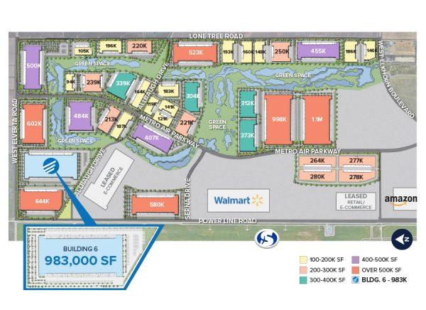 Metro Air Park - Building 6 Master Site Plan