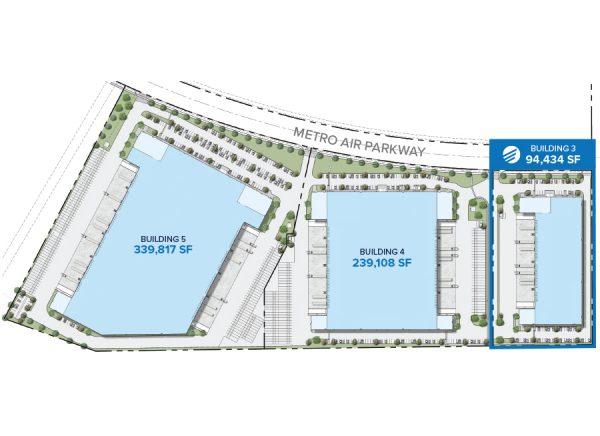 Metro Air Park - Building 3 Site Plan