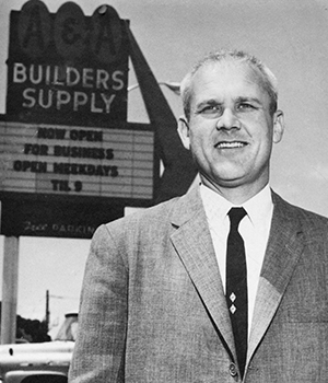 """Marvin """"Buzz"""" Oates business builders supply history"""