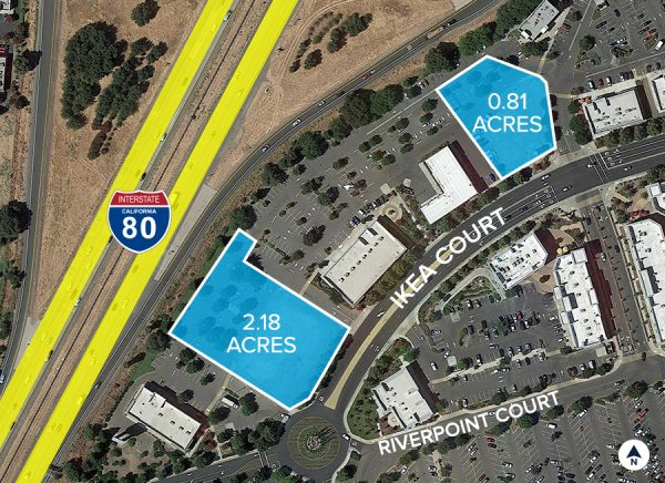 Riverpoint Marketplace land Aerial